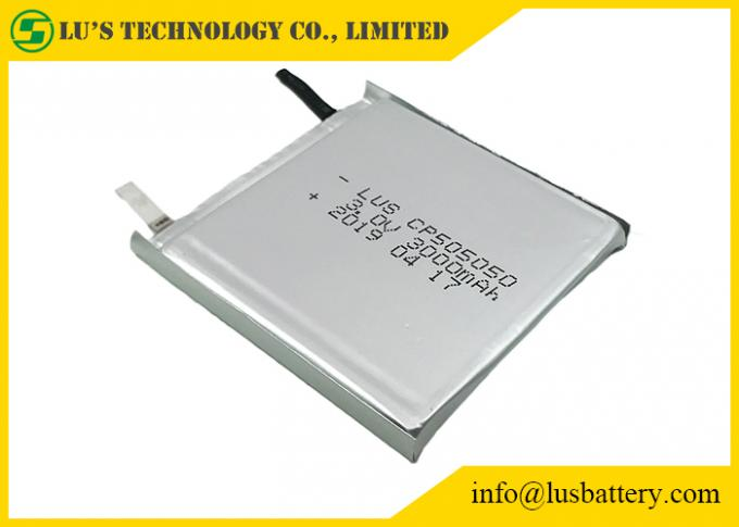 3.0 V Lithium Battery CP505050 3000mah Limno2 Battery Thin Cell type 2