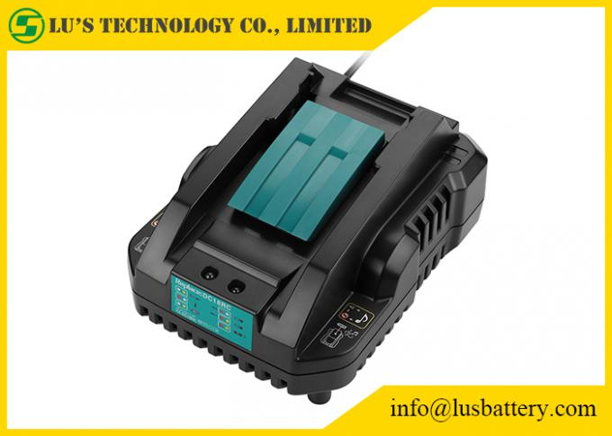US EU UK Plug Power Tool Chargers 4A DC18RA DC18RC 18V DC18RC 14.4-18V Lithium‑Ion Rapid Optimum Charger 0