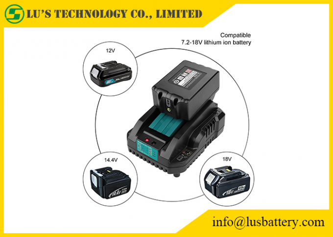 US EU UK Plug Power Tool Chargers 4A DC18RA DC18RC 18V DC18RC 14.4-18V Lithium‑Ion Rapid Optimum Charger 2