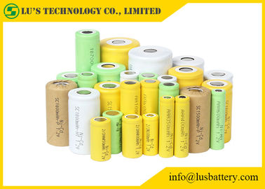 China 1.2V 3.6 Volt Nickel Cadmium Battery For Medical Device / Metal Detectors supplier