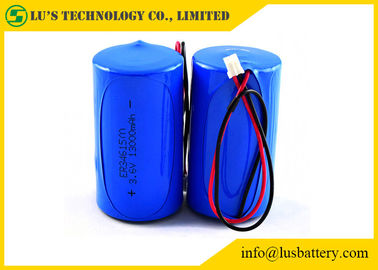 China 3.6V 13.0Ah Lithium Thionyl Chloride Battery Lithium Battery ER34615M Size D supplier