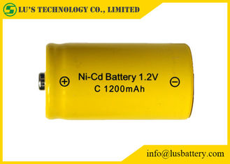 1.2V C 1200mah Nickel Cadmium Battery For Cordless Phones / Digital Cameras