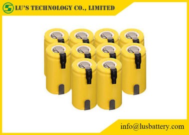 China 1.2V SC Type Nickel Cadmium Battery Sub C Nimh Batteries With Tabs Long Cycle Life​ supplier