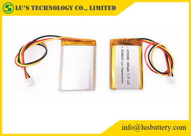 China LP103450 3.7V 1800mah Lithium Polymer Battery Rechargeable Low Temperature supplier
