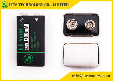 China Non Rechargeable Square Lithium Battery 10 Years Storage Life CR9V1200mah supplier