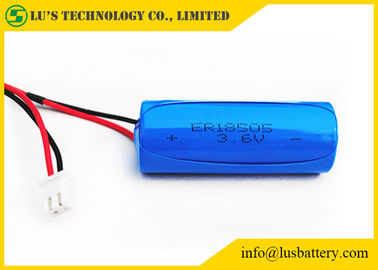 3.6V 4000mAh Lithium Primary Battery / Li SoCl2 Lithium Battery Size A ER18505