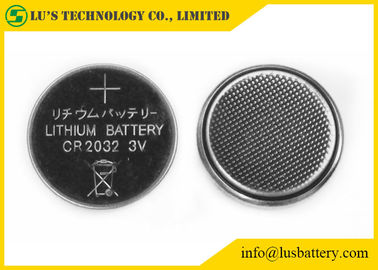 China CR2032 Lithium Button Cell Lithium Coin Cell Battery 3.0V 210mah Capacity supplier