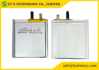 CP224248 primary lithium battery 3v 850mah Ultra Thin Battery 850mAh 3v lithium battery CP224248