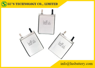 China Flexible Flat LiMnO2 Battery , Ultra Thin Cell CP604050 3V 3000mah Long Lifespan supplier