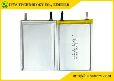 3.0V 900mAh Li-MnO2 Non-rechargeable battery Cp155070 Thin Cell pack 3v thin batteries CP155070