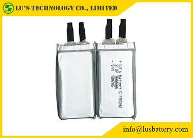 China 3.0v 1500mah Limno2 Ultra Slim Battery CP702242 Long Lifespan For Alarm System supplier