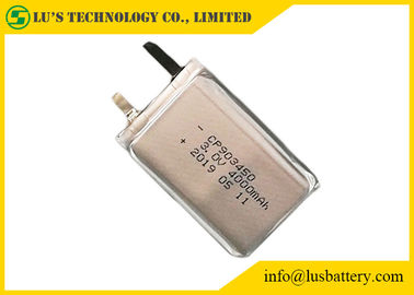 China Smoke System Ultra Slim Battery 4000mAh 3V Soft Cell Non Rechargeable CP903450 supplier