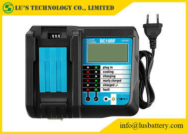 lithium Battery Charger 3.5A DC18RF Drill Parts 3.5A Charging Current USB 2.1A Output LCD BL1830 Bl1430 For 18V 14.4V