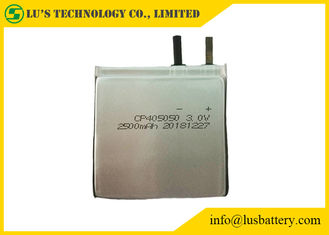 Slim LiMnO2 Battery CP405050 2400mAh 2500mAh 3v thin cell