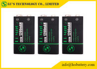 Long Cycle Life CR9V Square Lithium Battery Custom Design 1200mAh Capacity