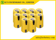 China 1.2V SC Type Nickel Cadmium Battery Sub C Nimh Batteries With Tabs Long Cycle Life​ factory