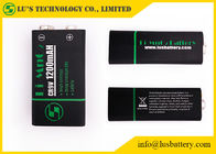 China CR9V Primary Lithium Manganese Battery / 9v Lithium Battery 1200mAh factory