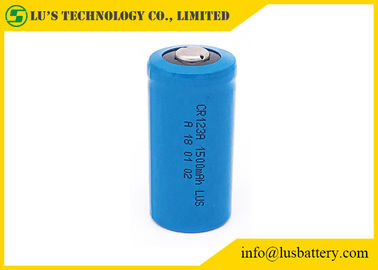 China CR123A 1500mah 3V Lithium Manganese Dioxide Battery Stable Performance distributor
