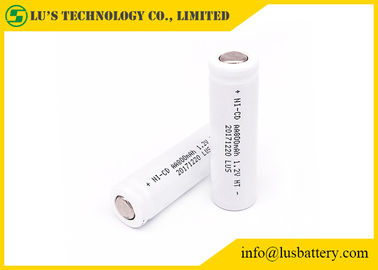 China AA 800mah Nickel Cadmium 1.2 V Battery , High Temperature Rechargeable Battery distributor