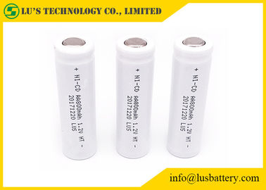 China High Temperature 1.2 Volt Nickel Cadmium Battery Energy Saving Customized PVC distributor