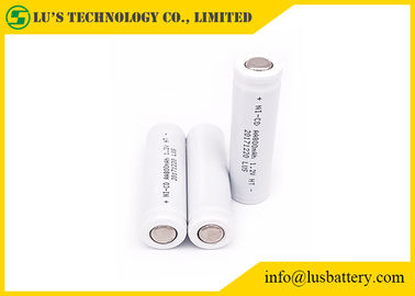 China Rechargeable Nickel Cadmium AA Batteries , High Temperature AA Battery 1.2V 800mah distributor