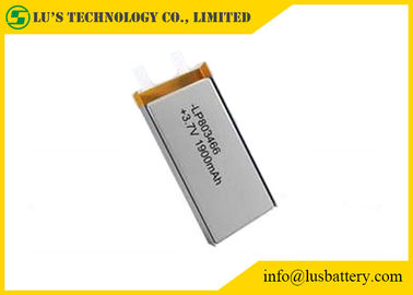 China Light Weight 1900mah Rechargeable Lithium Polymer Battery Low Self Discharge distributor
