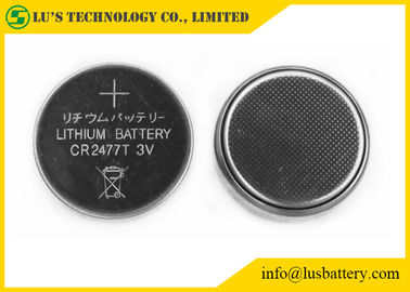China Non Rechargeable Lithium Button Cell 1000mah CR2477 3v Lithium Battery distributor